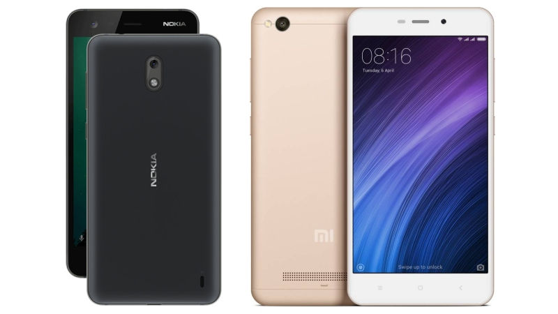 Nokia 2 and Xiaomi 4A comparison