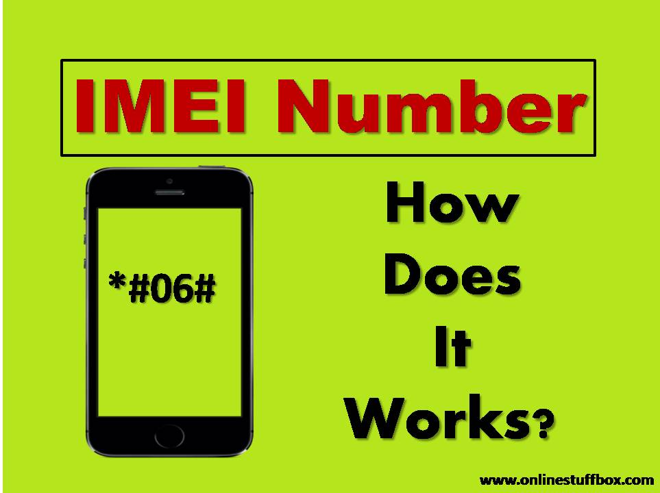 What is IMEI Number in Phones