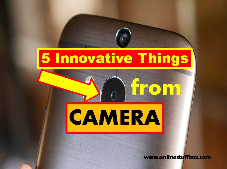 5 Innovative Things with your Smartphone Camera