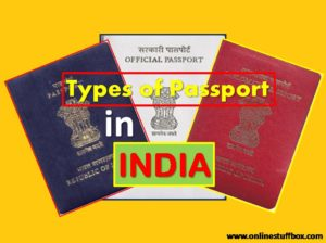 Passport Type in India