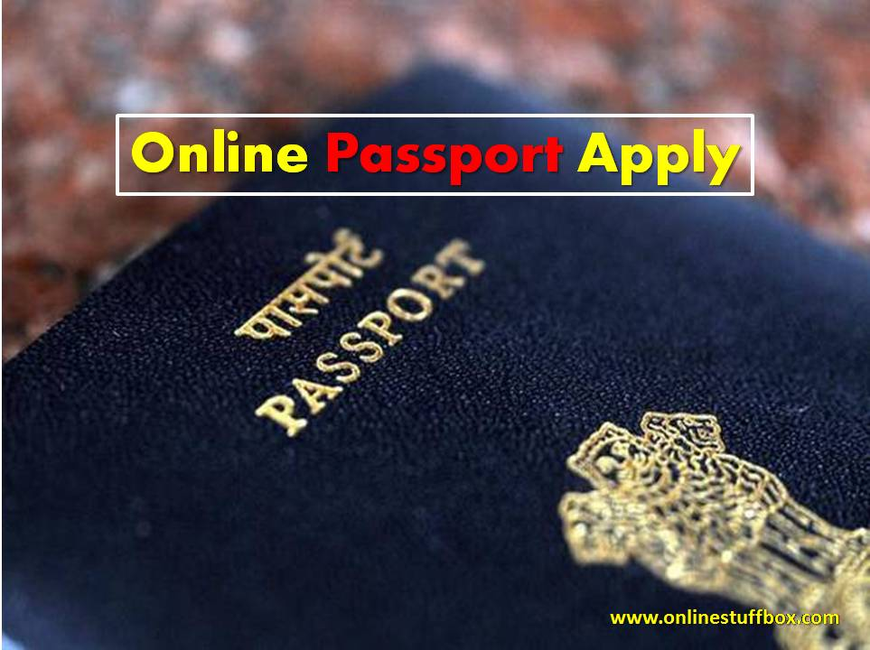 Online Passport Apply